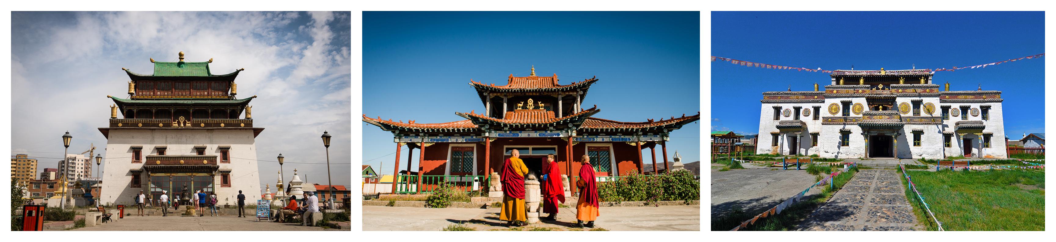 Monasteries Of Mongolia
